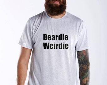 Beardie Weirdie Shirt, Beard Shirt, Mens Beard Shirt, Love Beards Shirt, Beard, Beard Gift Set, Gift For Him, Beard Shirt, Funny Beard Shirt