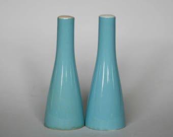 vintage mikasa cera stone salt and pepper shakers