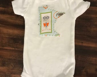 Minnesota Baby Onesie Bodysuit - Framed Monsters