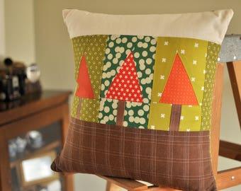 Triangle Tree Pillow