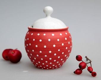 "Honey or sugar pot  ""Amanita"""