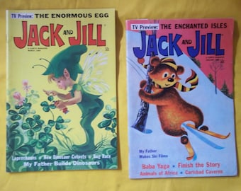 Jack and Jill, A Curtis Magazine.  Mar 1968 and Jan 1969.