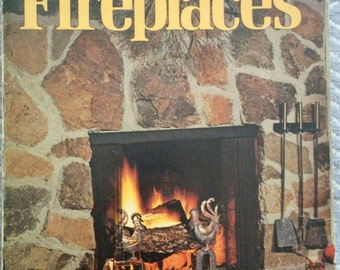 How to Plan and Build Fireplaces, Softcover Book, Sunset, 1974