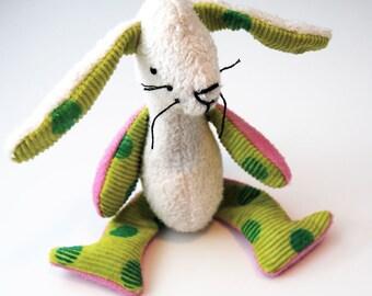 Eco Organic Bunny Rabbit Doll Stuffed Animal Girl Toy