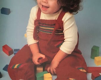 PDF Knit Children Overalls I