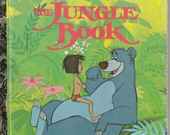 Walt Disney's The Jungle Book, A Little Golden Book - Vintage Childrens Book -