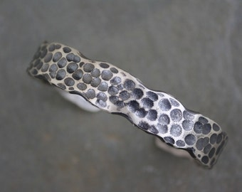 Textured Sterling Cuff