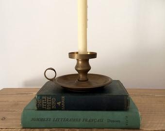 Vintage Brass Taper Candleholder