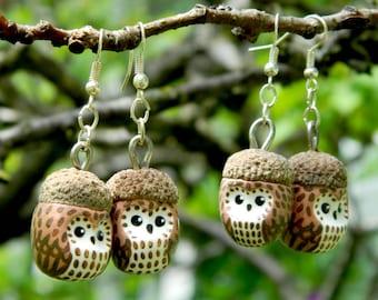 OWL OWL earrings tassel