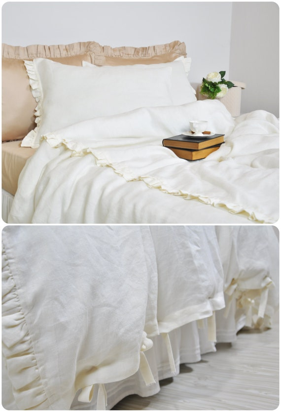 linen duvet cover set in twin twin xl pure linen bedding. Black Bedroom Furniture Sets. Home Design Ideas