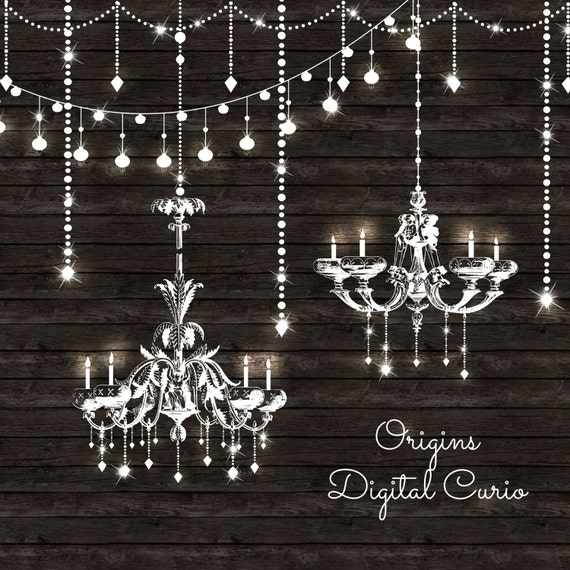 Chandeliers clipart and string lights png and vector clip chandeliers clipart and string lights png and vector clip art set chandelier clip art white string lights fairy lights wedding clipart mozeypictures Gallery