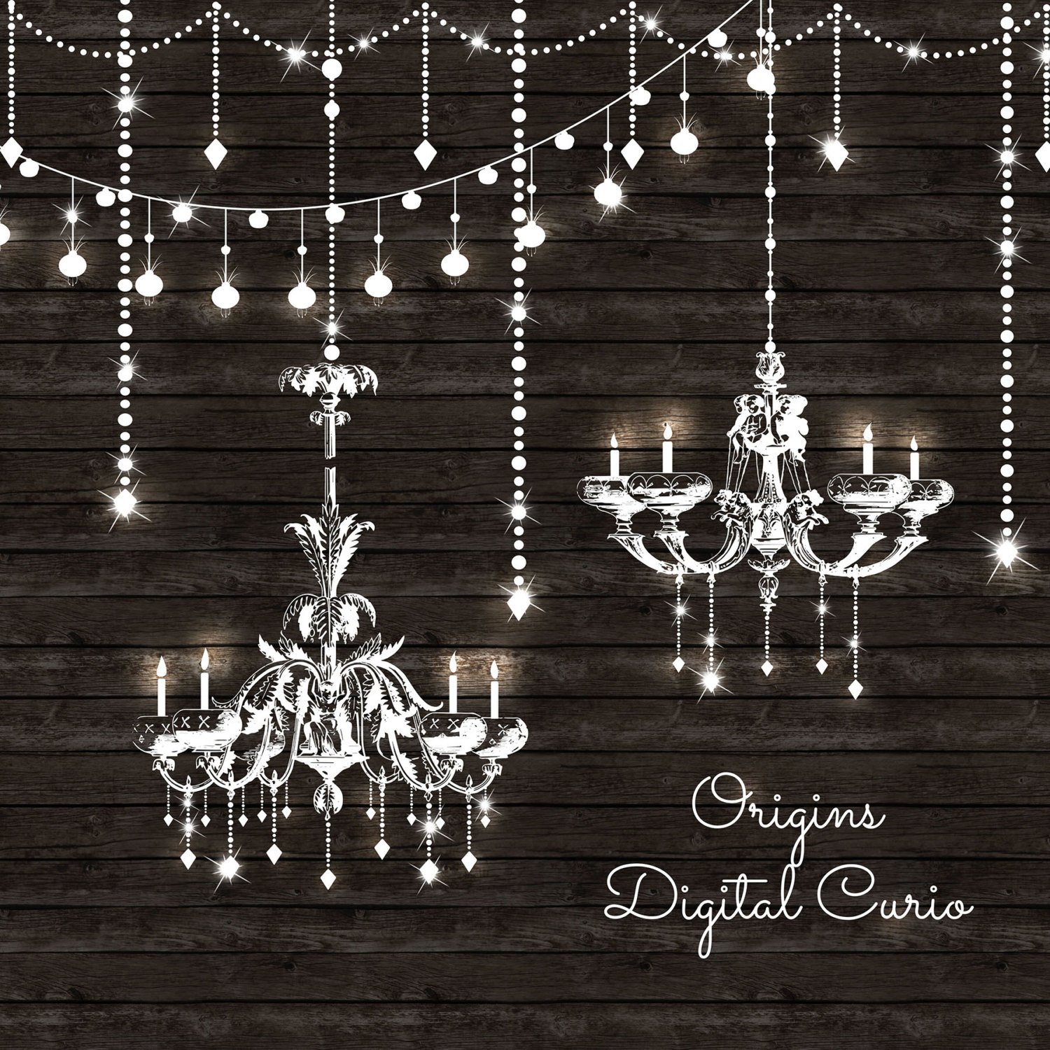 Chandeliers clipart and string lights png and vector clip zoom aloadofball Gallery