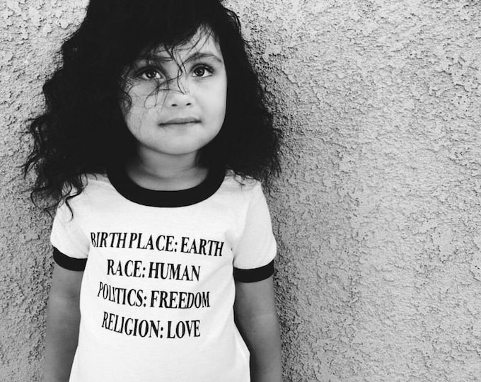 Featured listing image: Toddler Peace Shirt