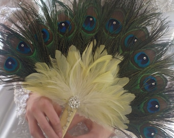 1 - TLCs FOUR WEDDINGS Bridesmaid Fan in your choice of colors
