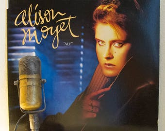 "Alison Moyet (ex Yaz) Vinyl Record Album LP 1980s British New Wave Synthpop Dance ""Alf"" (1985 Cbs w/""Love Resurrection"", ""All Cried Out"")"