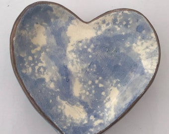 Ceramic Heart  Dish