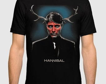 Hannibal Art T-shirt, Men's Women's All Sizes