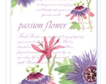 Passion flower Scented Sachets