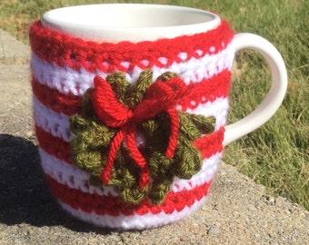 Cup Cozy Wreath