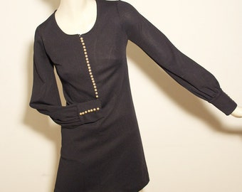 vintage dress/ original 1960s/ Made in Italy