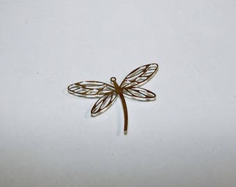 Pendant 3 cm wide Dragonfly pendant in Silver 925/1000. Money first. (2739213)