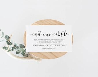 Wedding insert Etsy