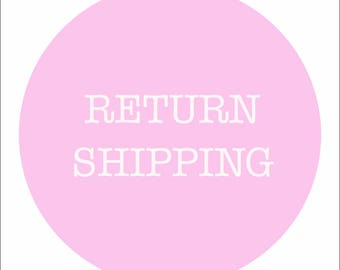 ADD-ONS, Return Shipping