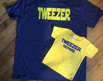 Phish inspired, Matching Shirt Set, Tweezer/Reprise, Tweezer shirt, Fathers Day, Mothers Day, Kids Phish shirt
