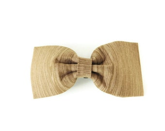 Wood grain bow tie, wood print dog bow, nature collar bow, tree flower, dog bow tie