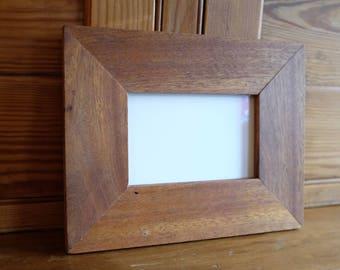 """4x6"""" reclaimed mahogany frame"""