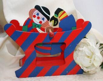 Decorative Vintage  beautiful carousel of the Italian Sevi brand, handmade  in Italy c1980.