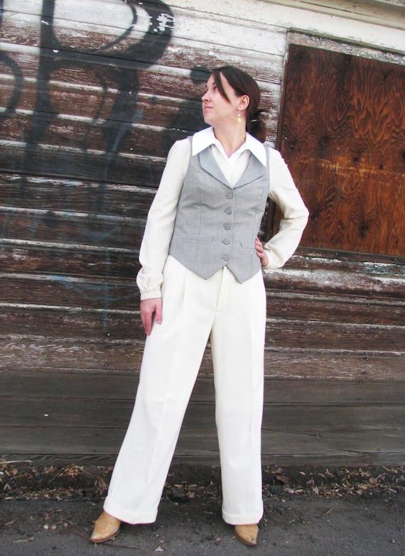 V-Back Vest and Pant SuitsCustom Made
