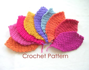 Small Facial Wash Cloth or Coaster Crochet Pattern Tutorial, Easy Crochet Pattern, Instant Download
