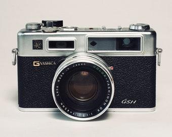 Yashica Camera Print