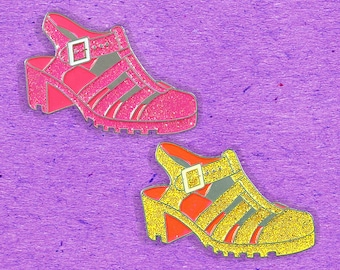 Jelly Shoe Pins