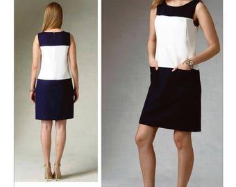 VOGUE 1382 sewing pattern.  Anne Klein Vogue Patterns American Designer.  Size 16-18-20-22-24.  New.  Uncut.  Factory folded.