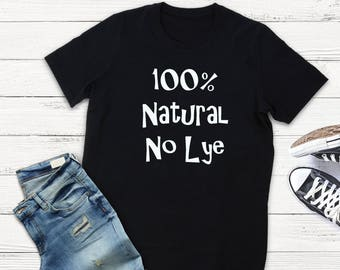 100% NATURAL NO LYE