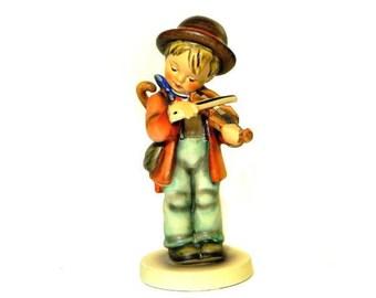 Hummel Figurine Little Fiddler #2/0 Goebel West Germany TMK 3