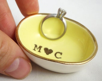bridal shower gift, gifts for mom from daughter, personalized ring dish, personalized, jewelry dish, engagement ring dish, gift for bride