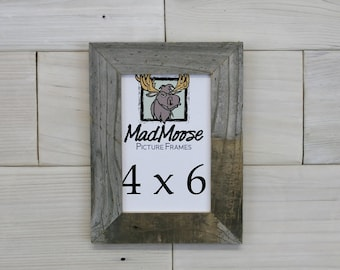 "4x6 Barn Wood [Thin x 1.25""] Picture Frame"