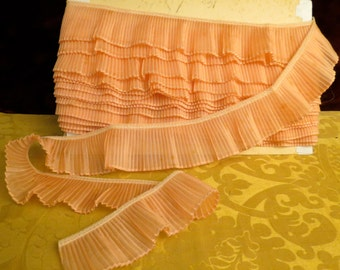 Vintage French Pleated Ribbon Trim