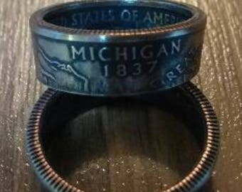 Quarter by State Coin Ring