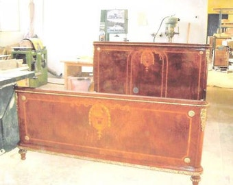 REDUCED! Antique 19th Century French Bedroom Set with Ormolu
