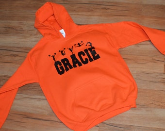 Personalized Cheerleading Sweatshirt