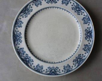 Minton Blue & White Salad Plate
