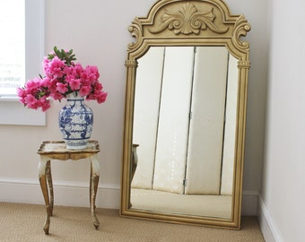 Large Gold Mirror Number Two