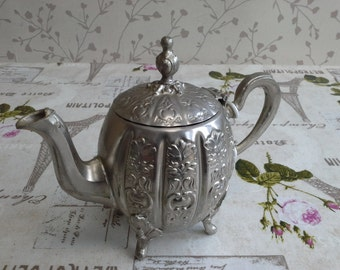 Thierere Moulay Abdelkadel. Silver, Tea Pot Moroccan