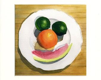 Happy Fruit 6 (Painting)