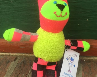 DayGlo Sock Doll