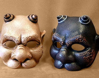 Gargoyle latex Mask for LARP, Costume, cosplay, theatre